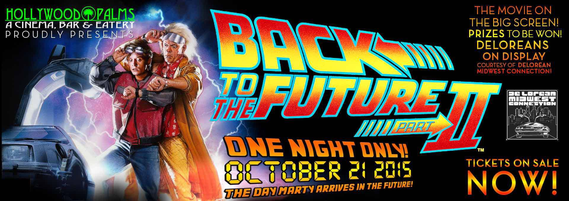 Back to the Future 2 Event